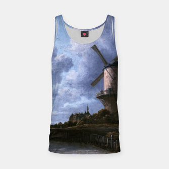 Thumbnail image of The Windmill at Wijk bij Duurstede by Jacob van Ruisdael Tank Top, Live Heroes