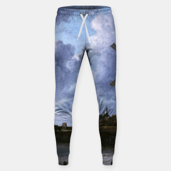 Thumbnail image of The Windmill at Wijk bij Duurstede by Jacob van Ruisdael Sweatpants, Live Heroes