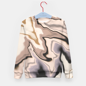 Miniature de image de Abstract dark digital watercolor 15 Sudadera para niños, Live Heroes