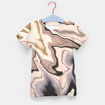 Miniature de image de Abstract dark digital watercolor 15 Camiseta para niños, Live Heroes