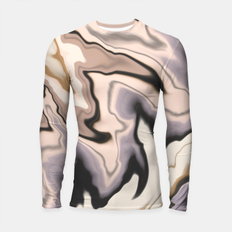Thumbnail image of Abstract dark digital watercolor 15 Longsleeve rashguard, Live Heroes