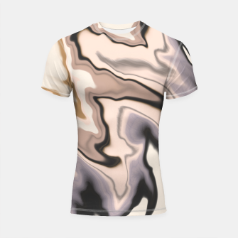 Thumbnail image of Abstract dark digital watercolor 15 Shortsleeve rashguard, Live Heroes