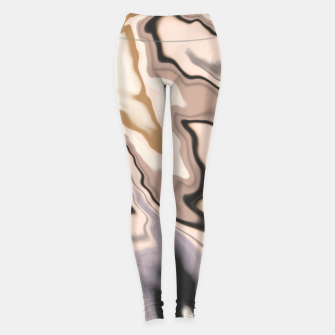 Thumbnail image of Abstract dark digital watercolor 15 Leggings, Live Heroes