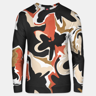 Thumbnail image of Modern floral abstract Sudadera unisex, Live Heroes