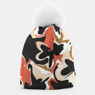 Thumbnail image of Modern floral abstract Gorro, Live Heroes