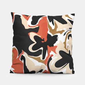 Thumbnail image of Modern floral abstract Almohada, Live Heroes
