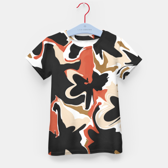 Thumbnail image of Modern floral abstract Camiseta para niños, Live Heroes
