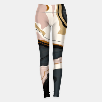 Thumbnail image of Digital marbling 47 Leggings, Live Heroes