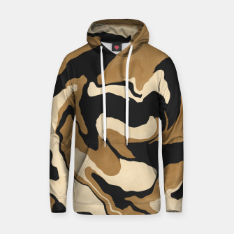 Marbled artistic wave 1 Sudadera con capucha miniature