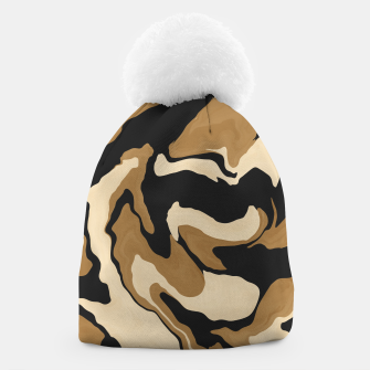 Marbled artistic wave 1 Gorro miniature