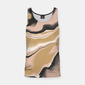 Thumbnail image of Marbled brushstrokes digital 108 Camiseta de tirantes, Live Heroes