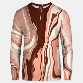 Miniatur Pink marbled detail 36 Sudadera unisex, Live Heroes