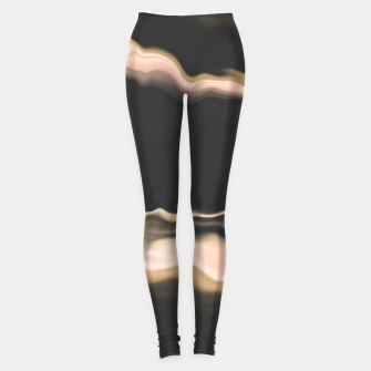 Marbled brushstrokes dark 30 Leggings thumbnail image