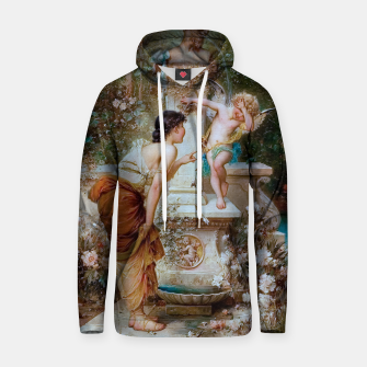 Thumbnail image of Youth by Hans Zatzka Old Masters Xzendor7 Reproduction Hoodie, Live Heroes
