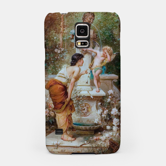 Thumbnail image of Youth by Hans Zatzka Old Masters Xzendor7 Reproduction Samsung Case, Live Heroes