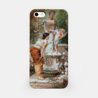 Thumbnail image of Youth by Hans Zatzka Old Masters Xzendor7 Reproduction iPhone Case, Live Heroes