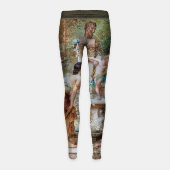Thumbnail image of Youth by Hans Zatzka Old Masters Xzendor7 Reproduction Girl's leggings, Live Heroes