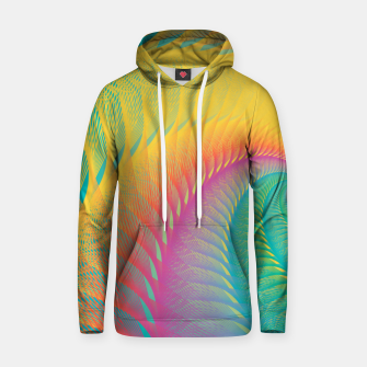 Miniaturka Minimalist Geometric Colorful Spiral in Rainbow Colors Hoodie, Live Heroes