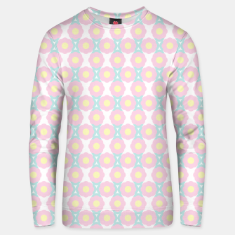Miniaturka Unicorn Dreams, Abstract Retro Minimalist Geometric Floral Pattern in Beautiful Light Pastel Colors  Unisex sweater, Live Heroes