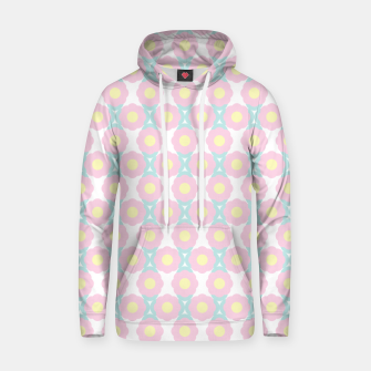 Miniaturka Unicorn Dreams, Abstract Retro Minimalist Geometric Floral Pattern in Beautiful Light Pastel Colors  Hoodie, Live Heroes
