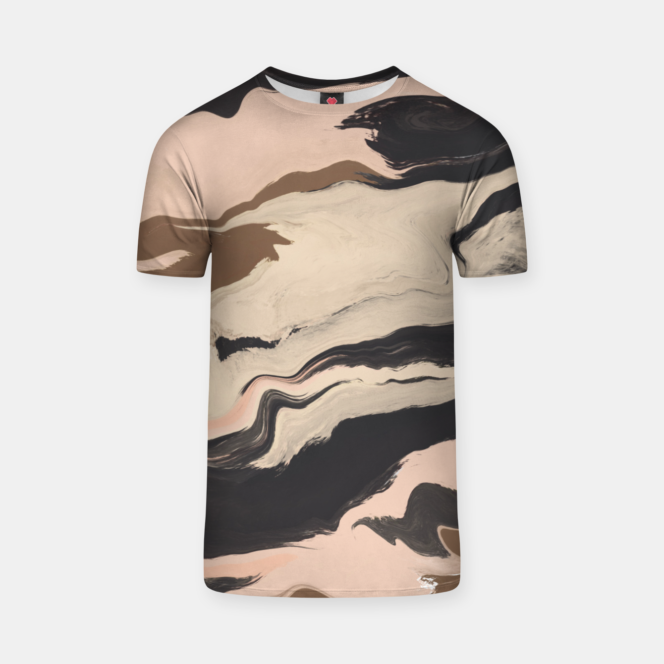 Image of Digital acrylic brushstrokes Camiseta - Live Heroes