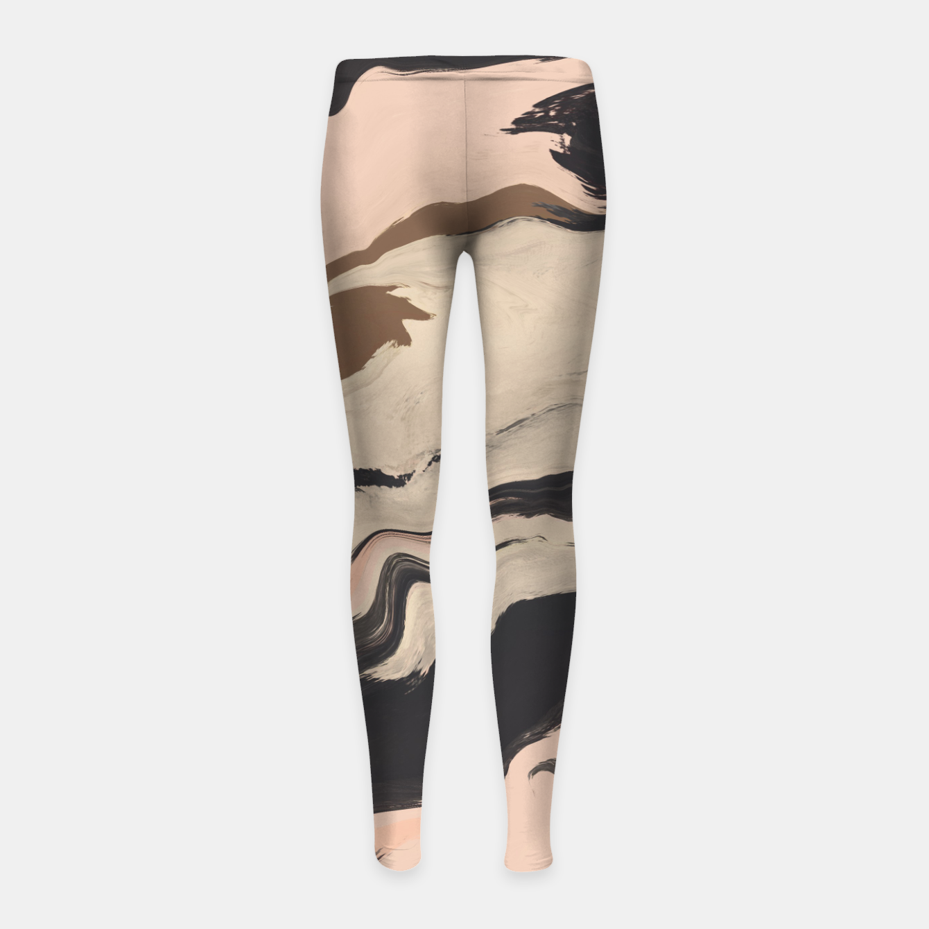 Image of Digital acrylic brushstrokes Leggings para niña - Live Heroes