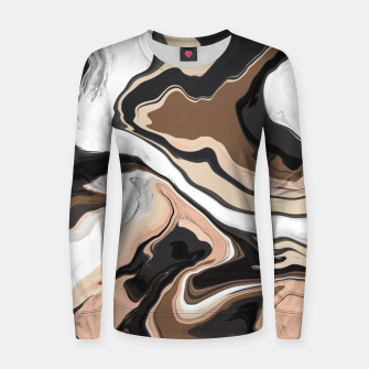 Abstract artistic painting 35 Sudadera para mujeres miniature