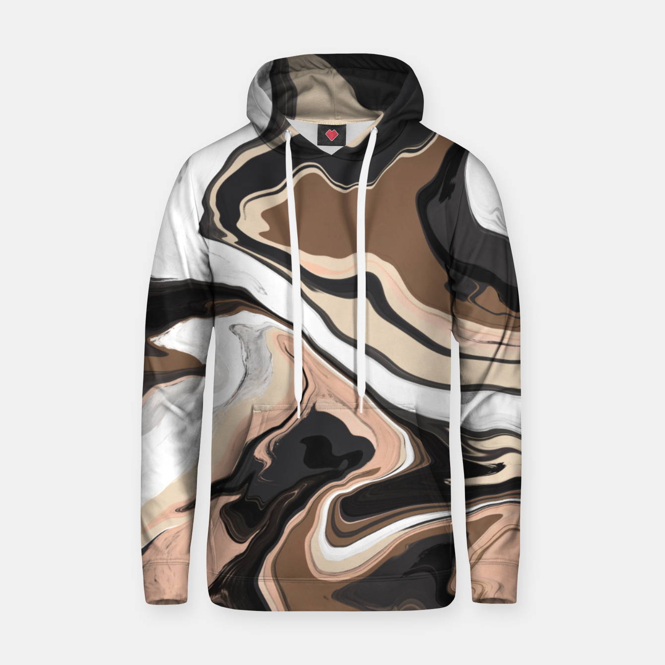 Image de Abstract artistic painting 35 Sudadera con capucha - Live Heroes