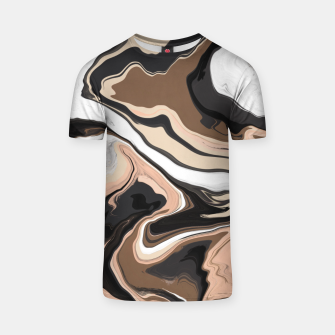 Abstract artistic painting 35 Camiseta miniature