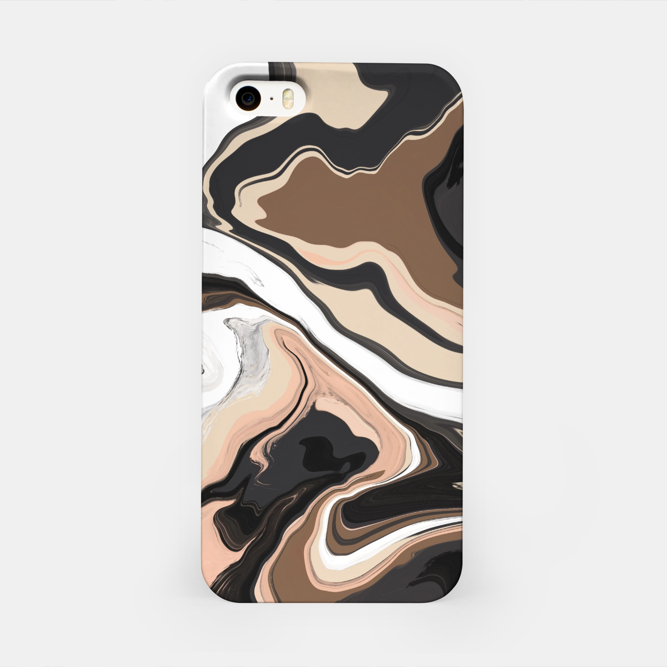 Image de Abstract artistic painting 35 Carcasa por Iphone - Live Heroes