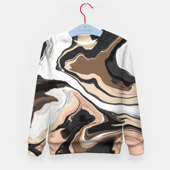 Abstract artistic painting 35 Sudadera para niños miniature