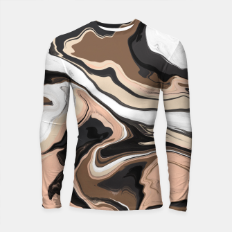 Abstract artistic painting 35 Longsleeve rashguard miniature