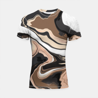 Abstract artistic painting 35 Shortsleeve rashguard miniature