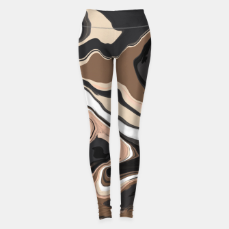 Abstract artistic painting 35 Leggings miniature