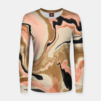 Thumbnail image of Abstract artistic painting 63 Sudadera para mujeres, Live Heroes