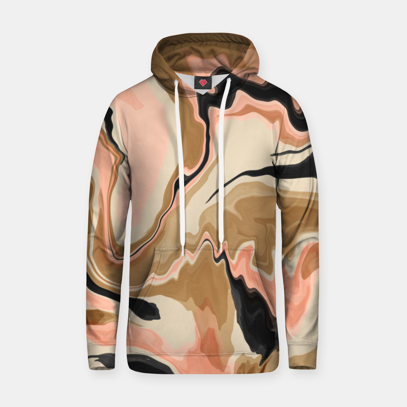 Image de Abstract artistic painting 63 Sudadera con capucha - Live Heroes