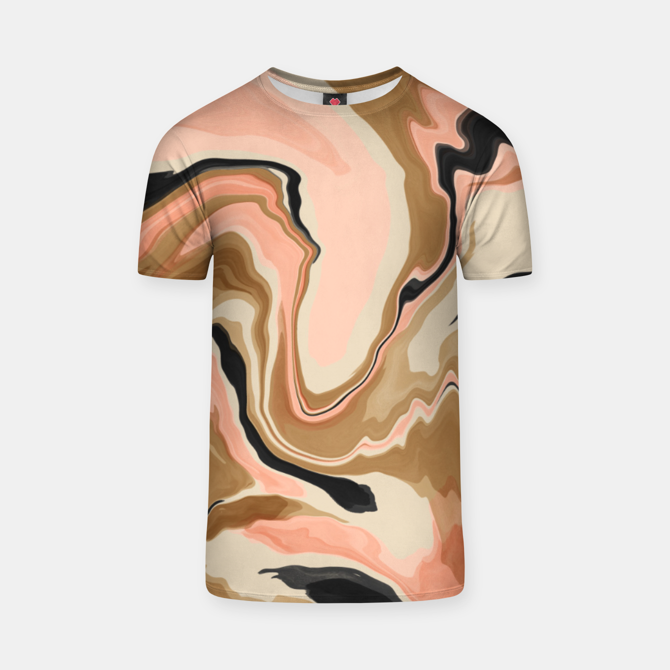 Image de Abstract artistic painting 63 Camiseta - Live Heroes