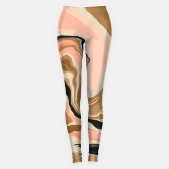 Abstract artistic painting 63 Leggings miniature