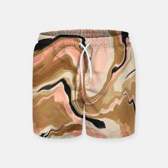 Abstract artistic painting 63 Pantalones de baño miniature