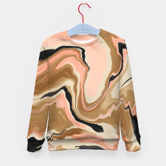 Abstract artistic painting 63 Sudadera para niños miniature