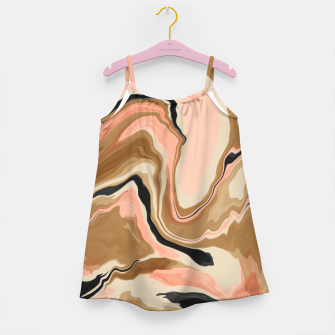 Abstract artistic painting 63 Vestido para niñas miniature