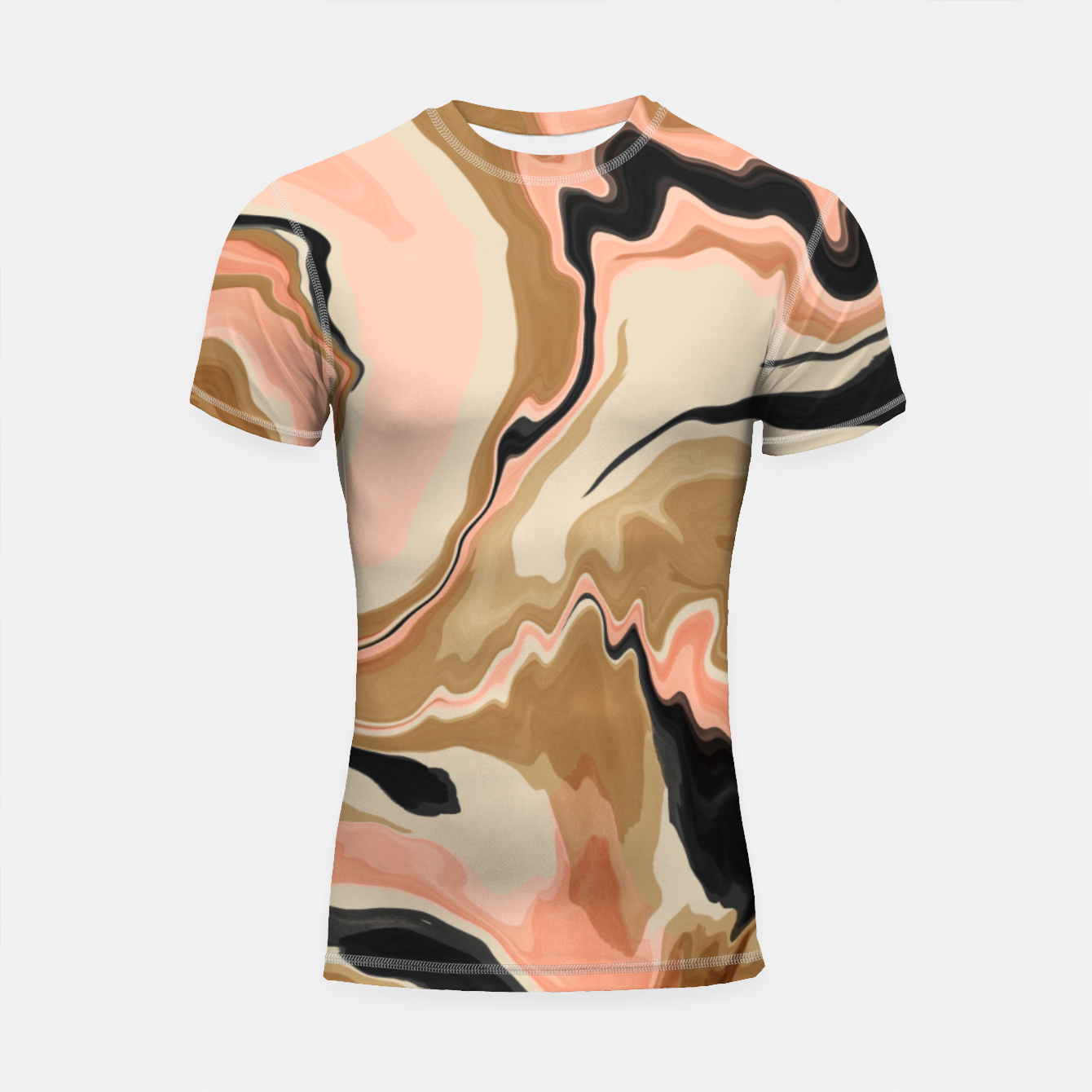 Image de Abstract artistic painting 63 Shortsleeve rashguard - Live Heroes