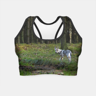 Thumbnail image of Wolfdog Crop Top, Live Heroes