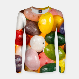 Miniature de image de Cool colorful sweet Easter Jelly Beans Candy Women sweater, Live Heroes