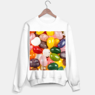 Miniature de image de Cool colorful sweet Easter Jelly Beans Candy Sweater regular, Live Heroes