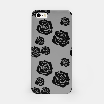 Miniature de image de Black Rose Garden Flower Lover Gifts Gardening Gardener iPhone Case, Live Heroes