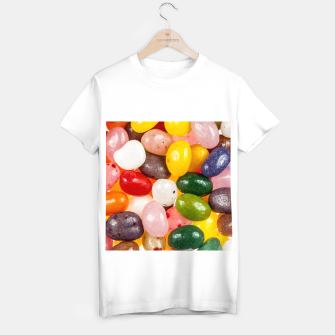 Miniature de image de Cool colorful sweet Easter Jelly Beans Candy T-shirt regular, Live Heroes