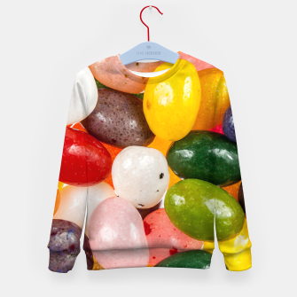 Miniature de image de Cool colorful sweet Easter Jelly Beans Candy Kid's sweater, Live Heroes