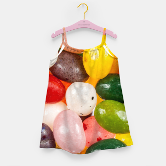 Miniature de image de Cool colorful sweet Easter Jelly Beans Candy Girl's dress, Live Heroes