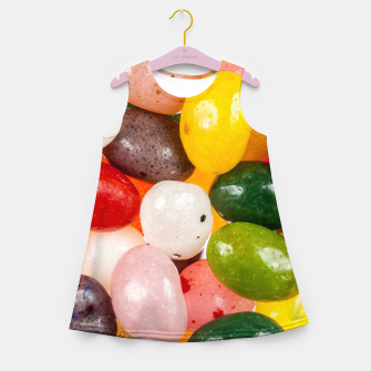 Miniature de image de Cool colorful sweet Easter Jelly Beans Candy Girl's summer dress, Live Heroes